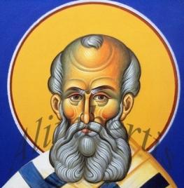 8)Άγιος Αθανάσιος ο Μέγας ( Λεπτομέρεια ).